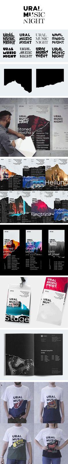 Corporate Design for Ural Music Night-Corporate Design for Ural Music Night - Id Design, Flyer Design, Logo Design, Graphic Design, Identity Design, Visual Identity, Brand Identity, Book Design Layout, Corporate Design