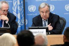 NOTA DIPLOMÁTICA - 06SET2017/3 Eu creio que o que é crucial hoje é garantir a unidade do Conselho de Segurança. Só com uma unidade do Conselho de Segurança  é possível manter uma pressão forte sobre a República da Coreia do Norte, capaz de criar as condições para que uma acção diplomática seja possível. António Guterres, Secretário-Geral da ONU