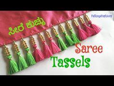 Saree Kuchu New Designs, Saree Jacket Designs, Saree Tassels Designs, Best Blouse Designs, Wedding Saree Blouse Designs, Saree Blouse Patterns, Dress Neck Designs, Kurti Designs Party Wear, Mirror Blouse Design