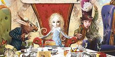 The book Alice in Wonderland, illustrated by Zdenko Basic will be published for…