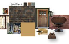 Considering our TruDefinition Duration shingles in Aged Copper? Try pairing it with complementary shades of mustard, brown or tan to bring out all of its stunning tones.