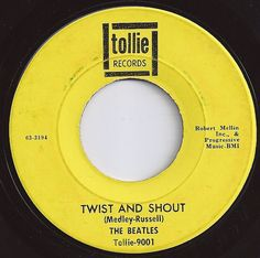 beatle 45 twist and shout | Twist and Shout / Beatles #2 on Billboard 1964
