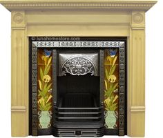Late Victorian Cast Iron Fireplace Inserts from Victorian Fireplaces UK - Repro Fireplaces