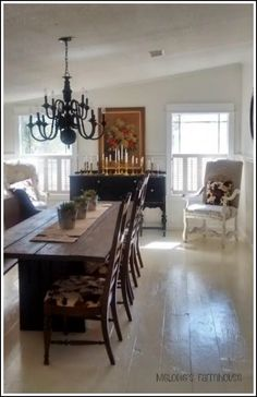 my hearts song melodies little farmhouse a mobile home remodel - Modular Dining Room