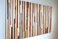 A sculptural wooden headboard - Modern Interior Design & Furniture - Decoist