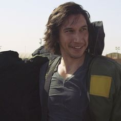 """flipalittlemore: """" (via Adam Driver Tries on a Bomb Suit in Kuwait (Extra Scene from 'Arts in the Armed Forces')) """""""
