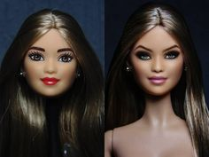 Before and After Haircut 333196072429733205 - beforeafter. Before And After Haircut, Makeover Before And After, Ken Doll, Barbie Dolls, Bjd Dolls, Vintage Barbie, Diy Haircut, Doll Painting, Modern Dollhouse