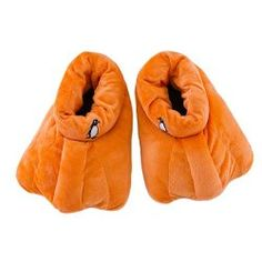 Penguin Slippers - I must have these!