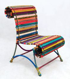 Awesome reading chair @Apartment Therapy