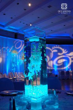 Blue Water Centerpieces 104