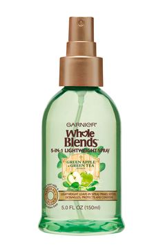 Garnier Whole Blends Refreshing 5-in-1 Lightweight Spray with Green Apple & Green Tea Extract