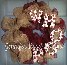 Texas A Aggies Whoop Deco Mesh Wreath by JenniferBoydDesigns, $60.00