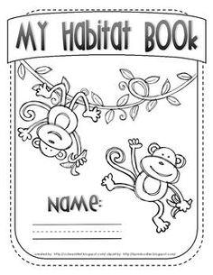 Animal Habitat Book...What I Learned