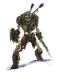 Dungeons and Dragons 5th Edition : Skeleton, Autumn Turkel on ArtStation at https://www.artstation.com/artwork/5th-edition-dungeons-and-dragons-skeleton