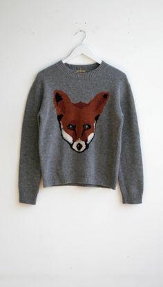 Peter Jensen / Unisex Fox jumper