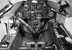 Focke-Wulf Fw 189 Uhu cockpit.
