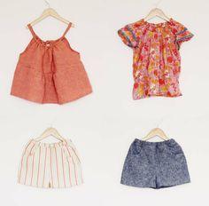 Monday Outfit: Basic Shorts + Fluttery Tops | Sanae Ishida