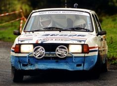 Skoda rally car - has a 1600 Ford crossflow engine fitted ;)