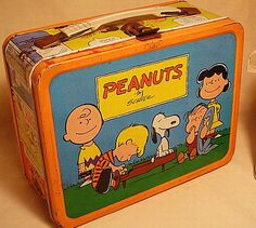 Peanuts lunch box! I love it!