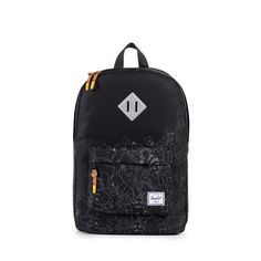 3654d9f4813a2 Herschel Heritage Mid Backpack Disney WINNIE THE POOH Black Schwarz  Rucksack in Kleidung   Accessoires