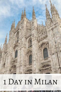 This one day in Milan itinerary will help you discover the city in just a day (including how to skip the lines at the Duomo and the Last Supper). Vacation Places, Places To Travel, Places To Visit, Milan Map, Milan Travel, Destinations, Spring City, Cities In Italy, Italy Tours