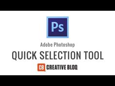 Video | How to use the Quick Selection Tool in Photoshop: http://www.creativebloq.com/video/how-use-quick-selection-tool-photoshop-6133329 #ToolSchool