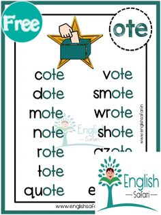 English Stories For Kids, English Lessons For Kids, Learn English Words, Phonics Chart, Phonics Blends, Phonics Words, Spelling Words, Phonics Reading, Kids Reading