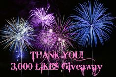 3000 likes giveaway for Joanne Jaytaine, Author!