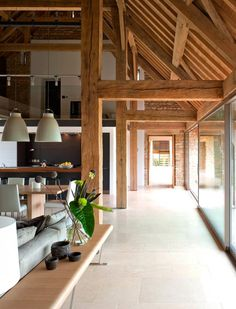 Barn Conversion in Cotswold by McLean Quinlan Architects Interiors 3