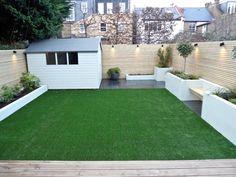 55 Modern Garden Design Ideas to Try - Minimalist & Small Garden - Gartengestaltung Fence Design, Patio Design, Urban Garden Design, Garden Storage, Modern Garden Design, Back Garden Design