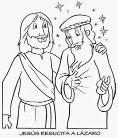 Hoy vamos a ver lo que les sucedió a tres hermanos amigos de Jesús. Estos hermanos eran Marta, María y Lázaro. Los tres vivían juntos en Bet...