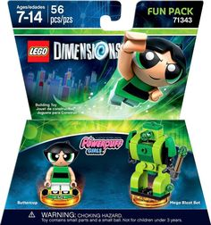 Lego Dimensions - The Powerpuff Girls Fun Pack (Buttercup)