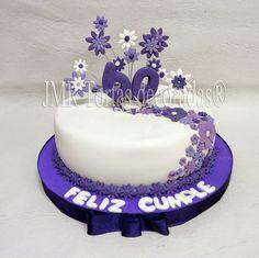 Torta Para Cumple de 60 Años | JMR Tortas Decoradas