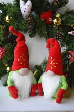 Excited to share this item from my shop: Christmas gnome Christmas gifts Scandinavian gnome Christmas decoration Christmas Christmas decor Christmas Gnome, Christmas Holidays, Christmas Crafts, Christmas Ornaments, Polymer Clay Christmas, Decoration Christmas, Scandinavian Gnomes, White Gift Boxes, Halloween Pumpkins