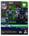 Amazon.com: Compatable with Lego's Minifigures, Football Player Toy. NFL Seattle Seahawks #25 Richard Sherman Cornerback Limited Edition. #2...