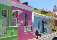 The Bo-Kaap is an area of Cape Town, South Africa formerly known as the Malay Quarter. It is a former township, situated on the slopes of Signal Hill above the city centre and is an historical centre of Cape Malay culture in Cape Town The Bo, Stone Street, Cape Town South Africa, Fishing Villages, Tenerife, Great Places, Amazing Places, Southeast Asia, Travel Photos