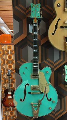 NGD: Masterbuilt Relic Seafoam Green Falcon! : Modern Gretsch Guitars : The Gretsch Pages #GretschGuitars