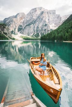 Welcome to Lago di Braies in Italy! Here are my best tips for visiting this beautiful lake in the Italian Dolomites. #Italy #Europe #Adventure #Hike #Travel European Destination, European Travel, Book Cheap Hotels, Mountain Images, Green Lake, Boat Rental, Beautiful Places To Travel, Visit Italy, Plan Your Trip
