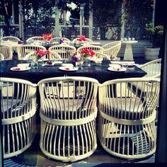 those chairs!!! via #kellywearstler Instagrams