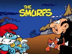 The Smurfs One of my favorite Saturday morning cartoons. I also remember going to Smurf Island at Carowinds. Almost got stuck in one of the Smurf houses once.