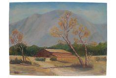 Rustic Landscape w/ Barn on OneKingsLane.com