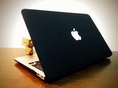 MacBook Airを古き良きブラックモデルにする激安ケースを買ってみた。 20120805 221947 norirow photo