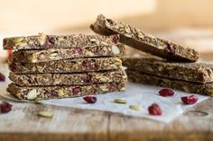 Soft & Chewy Baked Granola Bars — Oh She Glows