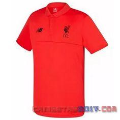 Camiseta polo Liverpool 2016 2017 rojo