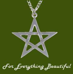 Star Pentagram Openwork Medium Stylish Pewter Pendant