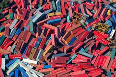 Japan Earthquake: Aftermath - In Focus - The Atlantic Cargo containers strewn about by the recent tsunami in Sendai, northern Japan, Saturday, March (AP Photo/Itsuo Inouye) Japan Earthquake, Earthquake And Tsunami, Earthquake Map, Sendai, Tsunami 2011, Cargo Container, Donia, Fukushima, Pacific Coast