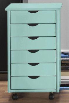 Stanton 6-Drawer Storage Cart - Storage Carts & Chests - Storage & Organization - Home Decor   HomeDecorators.com