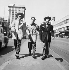 Pachuco's. Old school zoot suiter's from east los angales