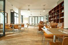 Restauration riz in Nürnberg: Im Kunst- und Design-Haus zumikon werden Zmittag, Gabelbissen und Apéro serviert – von der Schweizer Küche inspirierte Köstlichkeiten: http://cookionista.com/?p=4440