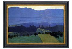 Félix Vallotton (1865-1925), Jura Mountains ~ Munn Works